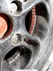 Repair of disks and wheels of vehicles
