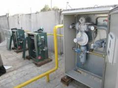 Газоснабжение. Установка системы автономного газоснабжения. Газоснабжения низкого,  среднего и высокого давления. Газорегуляторные пункти (ГРП) и установки (ГРУ). Монтаж и реконструкция систем газоснабжения.