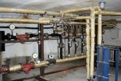 Водоснабжения и водоотведение, монтаж трубопроводов диам. 15-1220, внутриквартального, внутриплощадочного группового и локального, наземным и подземным способом (металлические, полиэтиленовые). Монтаж систем водоснабжения автономного.
