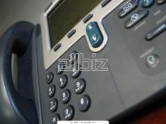 Телефонная линия информационной или технической