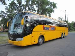 Перевезення автобусні туристичні