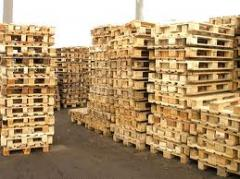 Export of pallets, palle