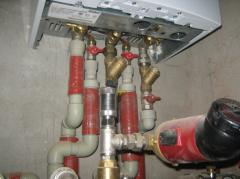 Автономное отопление водоснабжение канализация
