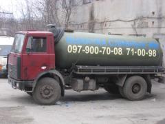 Услуги ассенизаторов в Николаеве. Выкачка сливных
