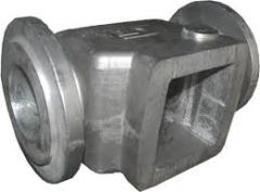 Molding in the chill mold: molding pig-iron,