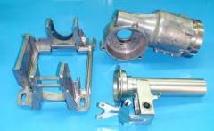 Molding under pressure of non-ferrous metals.