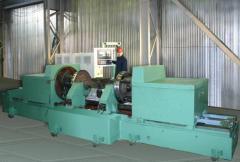 Repair of kolyosotokarny machines of production of