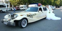 Retro - the car on a wedding. Seagull, Volga,