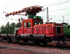 Repair and service of railway motor-section cars