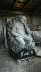 Sculpture of the person, portrait to order