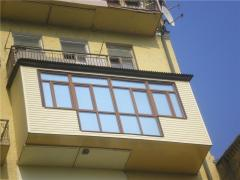 Construction and extension of balconies on any
