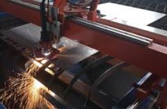 Порезка металла, крупногабаритных механизмов