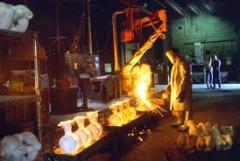 Foundry production. Molding of steel, cast iron,