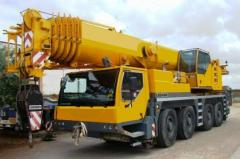 Rent sale of the LIEBHERR LTM 1090 truck crane