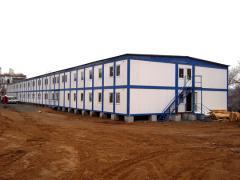 Монтаж строительных бытовок, мобильных зданий