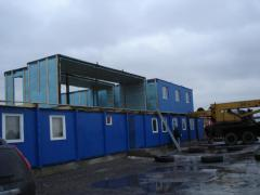Dismantle of modular buildings