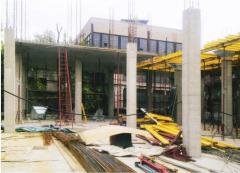 Construction works in Dnipropetrovsk