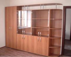Production of cabinet furniture under the order in