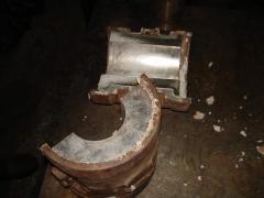 Restoration, refilling, naplavka of bearings of
