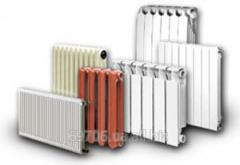 Замена радиаторов отопления, замена батарей.