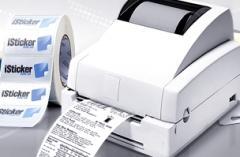 Printing of logos