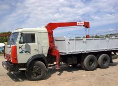 Услуги грузового автомобиля КАМАЗ 53215 с