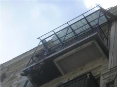 Balconies with carrying