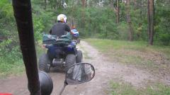 Driving on ATVs, the buggy Clubs of active