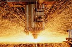 Production of preparations from sheet metal