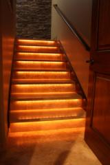 LED lighting and illumination of interiors of