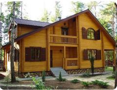 Строительство деревянных домов из бруса, дома из