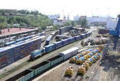 Послуги складів із власними залізничними