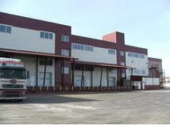 Services warehouse and transshipmen