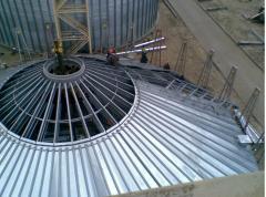 Изготовление ангаров из легких металлоконструкций - норийные башни