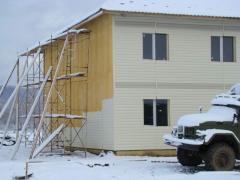 Тепло-гидро изоляция энергосберегающих зданий
