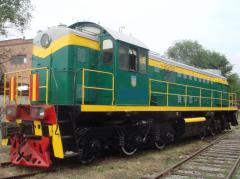 Repair of locomotives of TGM-4, TEM-2, TGM-23