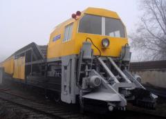 Repair of railway transport, rolling stock in