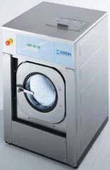 Installation of industrial washing machines
