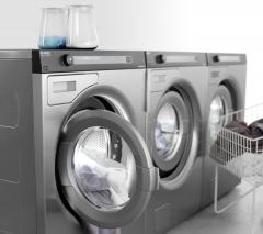 Installation of the equipment for laundries
