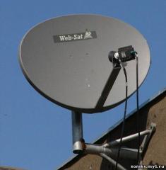 Спутниковое ТВ без абонплаты в Запорожье и