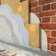 Утепление фасадов минеральной ватой. Декоративные