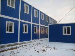 Construction of modular houses