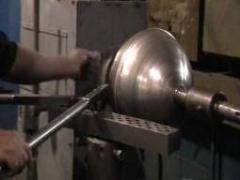 Ротационная вытяжка металла, Изготовление деталей