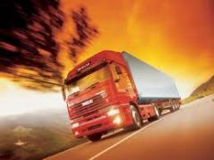 International transport on the CIS countries and