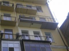 Extension of balconies