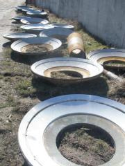 Repair of bearings of sliding for conical crushers