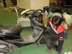 Ремонт скутеров, мопедов (Honda, Suzuki) Украина,