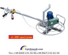 Concrete-finishing machines – rent, Kiev