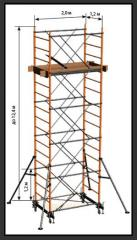 Rolling tower construction Tura (Vertical)