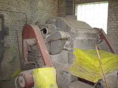 Repair of the grain processing equipmen